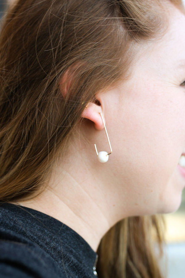 For Her Fresh Water Pearl Earrings